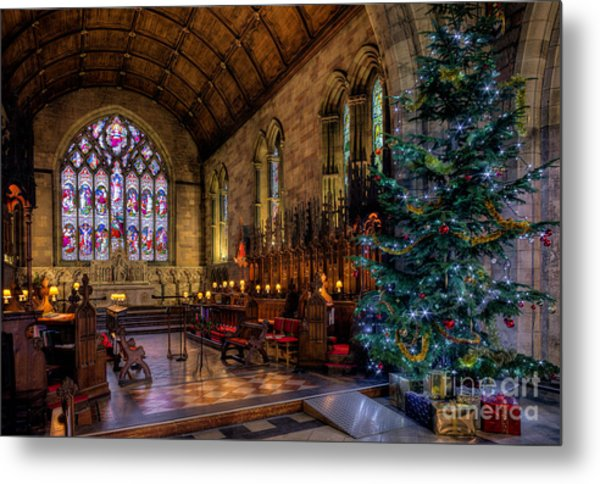 Metal Print featuring the photograph Christmas Time by Adrian Evans