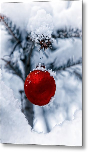 Christmas Tree Metal Print