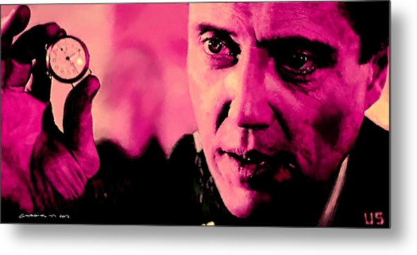 Christopher Walken @ Pulp Fiction Metal Print