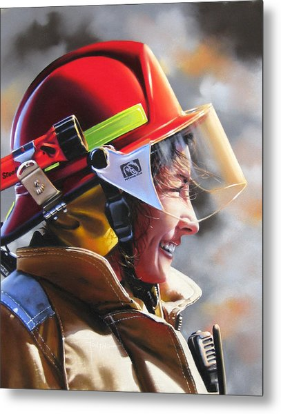 Christy Metal Print by Dianna Ponting