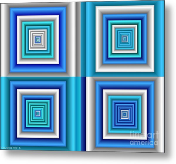 Chromodynamic  5 Metal Print