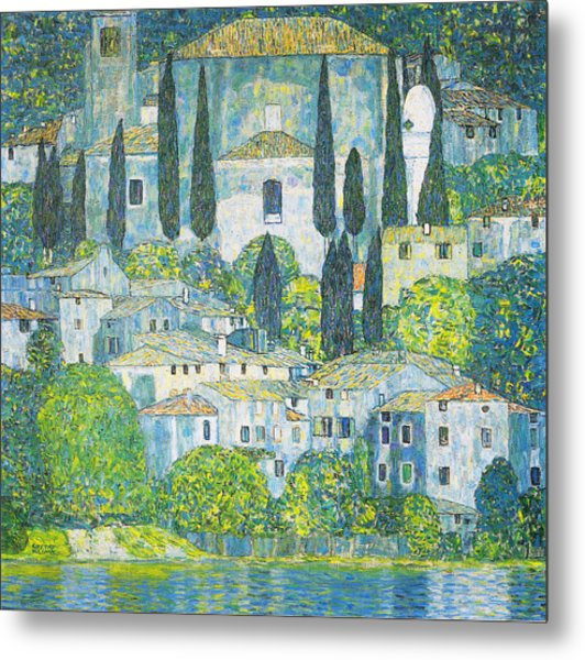 Chruch In Cassone Metal Print