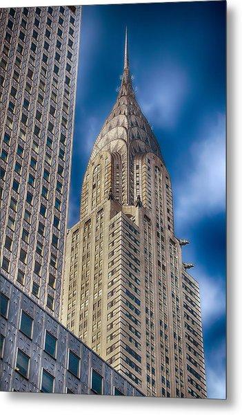 Chrysler Building Metal Print by Joann Vitali