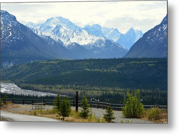 Chugach Mountains Metal Print