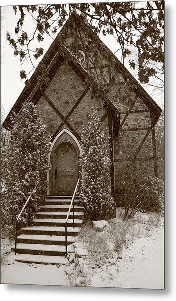 Church Algoma University Metal Print
