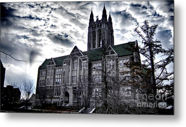 Church At Boston College Metal Print