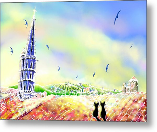 Church Bell Metal Print