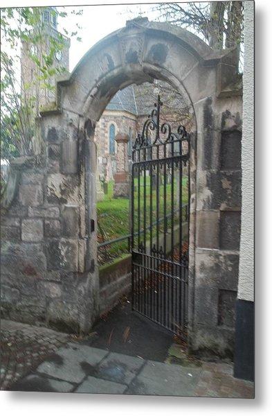 Church Gate Metal Print