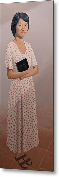 Church Lady Metal Print