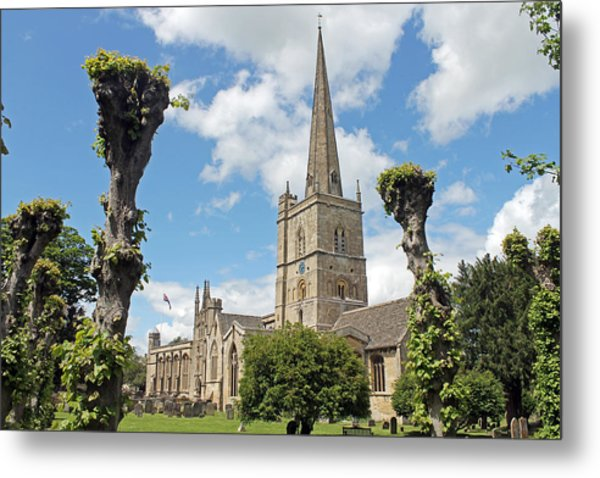 Church Of St John The Baptist Metal Print