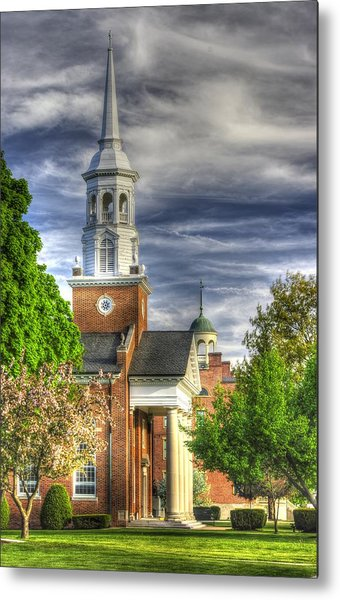 Church Of The Abiding Presence 1a - Lutheran Theological Seminary At Gettysburg Spring Metal Print