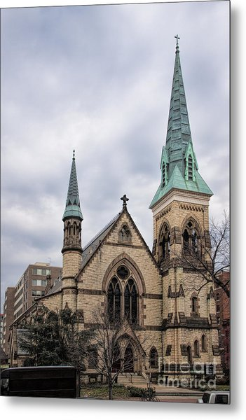 Church Of The Ascension And Saint Agnes Metal Print