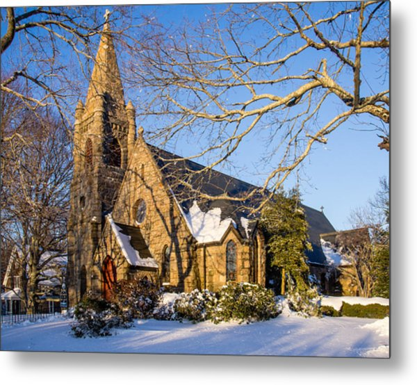 Church Of The Messiah Metal Print