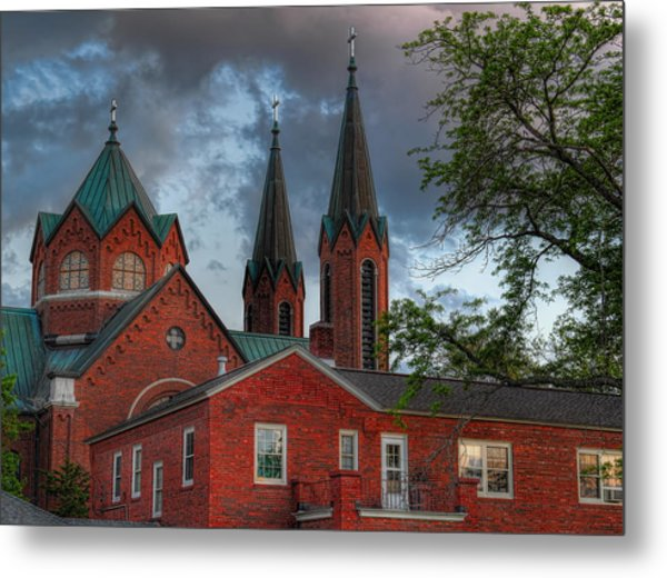 Church Of The Resurrection Metal Print