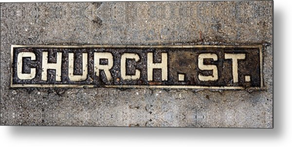 Church Street Metal Print