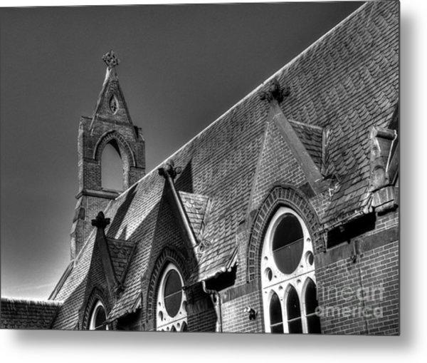 Churches On Church Street Metal Print