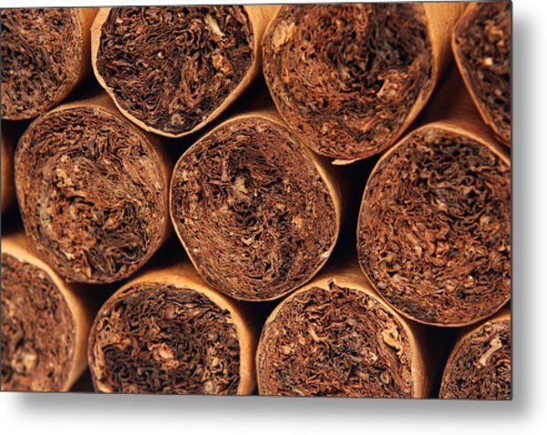 Cigars Metal Print by Rick Rhay