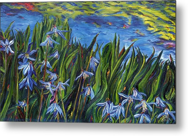 Cilia Flowers Metal Print by Gregory Allen Page