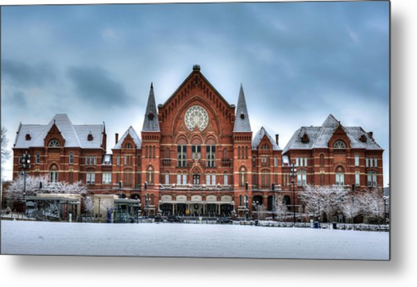 Cincinnati Music Hall Metal Print