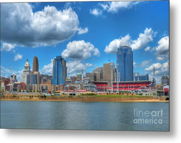 Cincinnati Skyline Metal Print