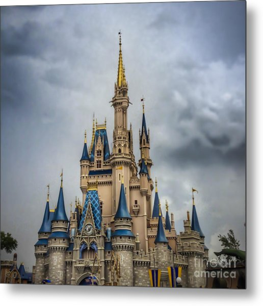 Cinderellas Castle Metal Print
