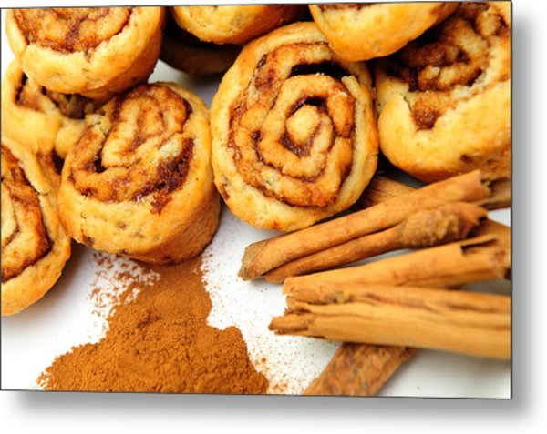 Cinnamon And Rolls Metal Print by Don Bendickson