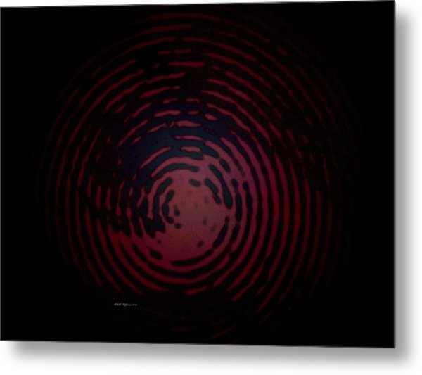 Circle Of Blackness Metal Print