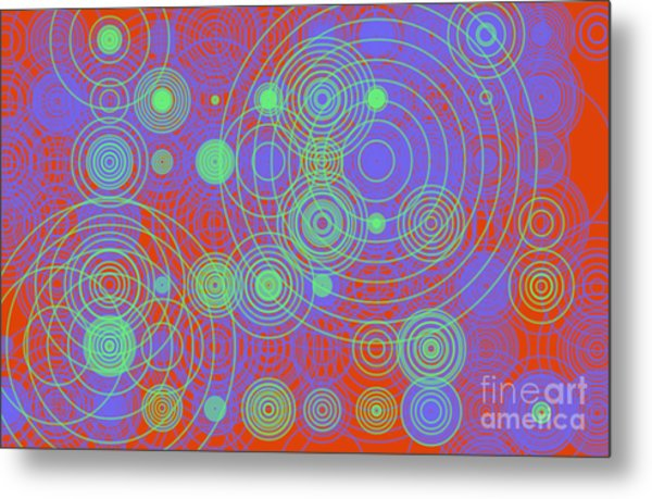 Metal Print featuring the digital art Circle Of Love  II by Ilona Svetluska
