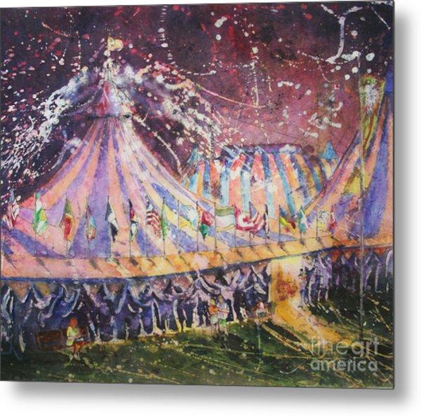 Cirque Magic Metal Print