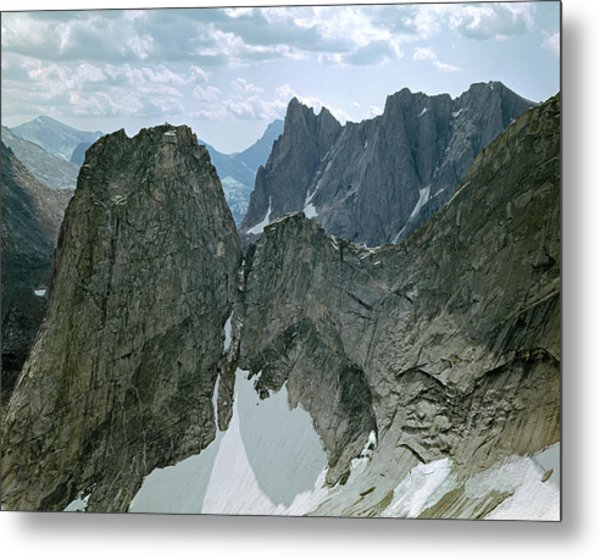 209615-cirque Of Towers, Wind Rivers, Wy Metal Print