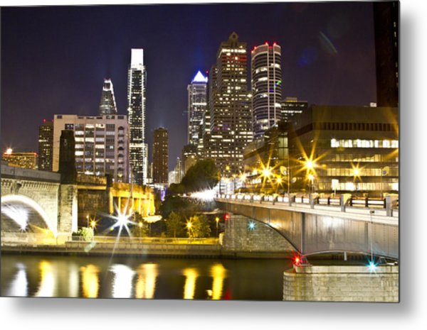 City Alive Metal Print
