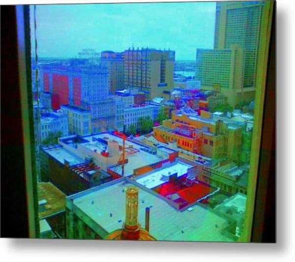 City Blues II Metal Print