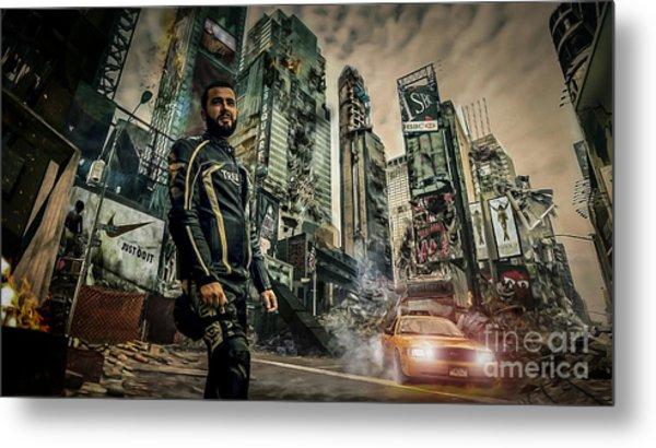 City Metal Print by Eugenio Moya
