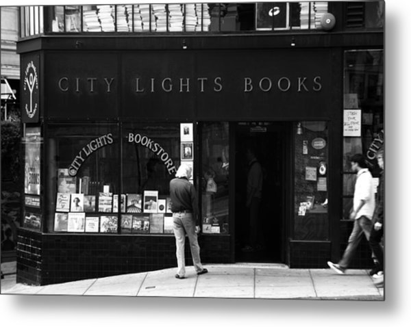 City Lights Bookstore - San Francisco Metal Print