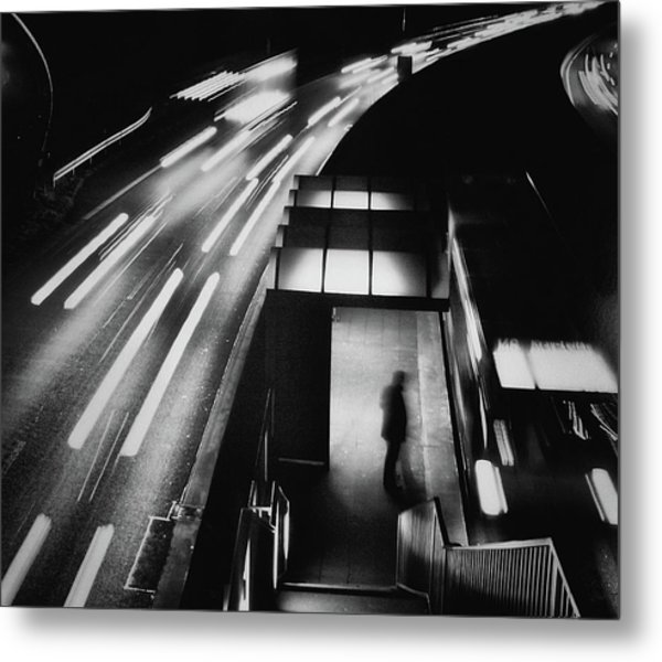 City Lights Metal Print by Holger Droste