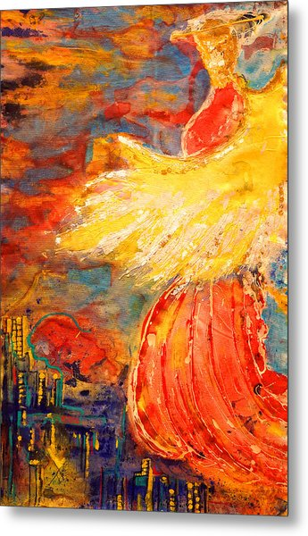 City Of An Angel Metal Print