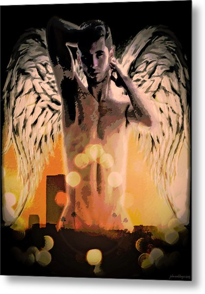 City Of Angels - Sunrise Metal Print