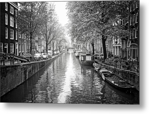 City Of Canals Metal Print