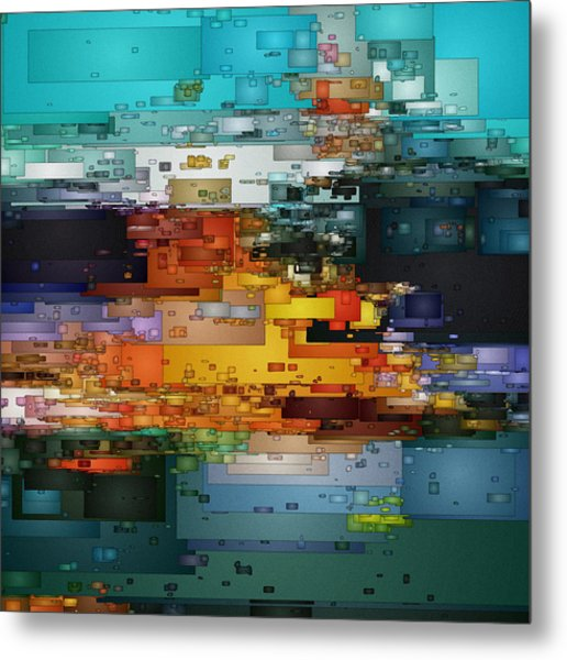 City Of Color 1 Metal Print