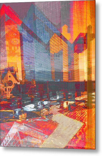 City Of Color Metal Print