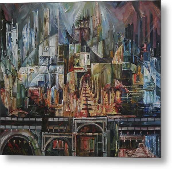 City Of Dreamers II Metal Print