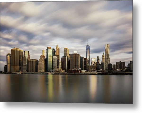 City Of Light Metal Print