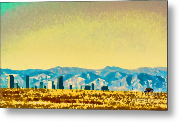 City On The Plains Metal Print