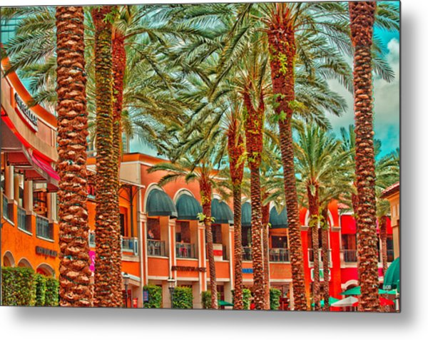 City Place Metal Print