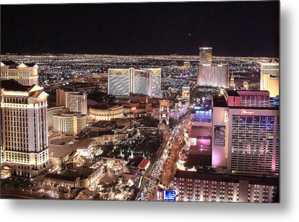 City Scapes Metal Print