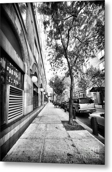 City Street Metal Print by John Rizzuto