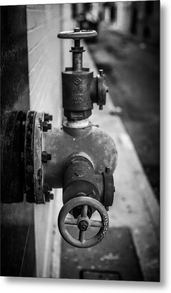 City Valves Metal Print