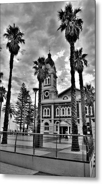 Civic Splendour - Glenelg Beach - Australia Metal Print