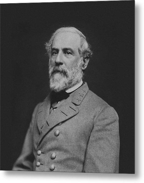Civil War General Robert E Lee Metal Print