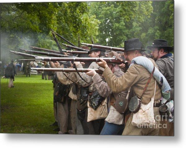 Civil War Reenactment 1 Metal Print